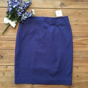 Halogen Blue Pencil Skirt